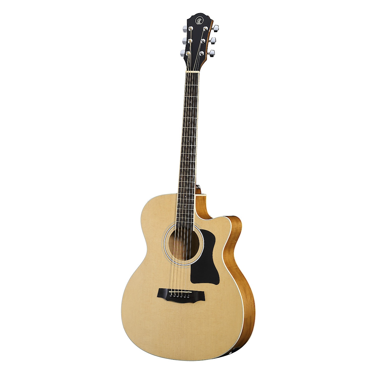 Stålsträngad akustisk gitarr med pickup Rivertone