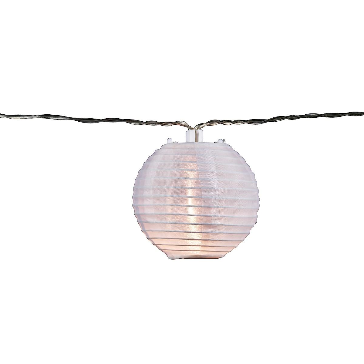 Solcelleslynge med risballer