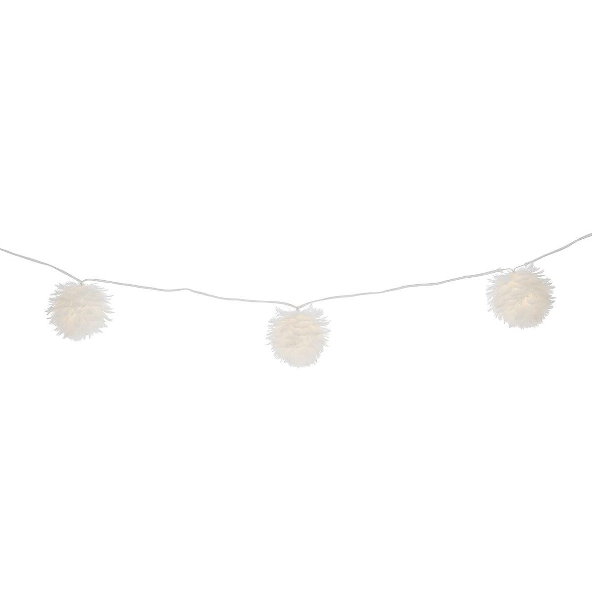 Ljusslinga med fjäderbollar, Northlight