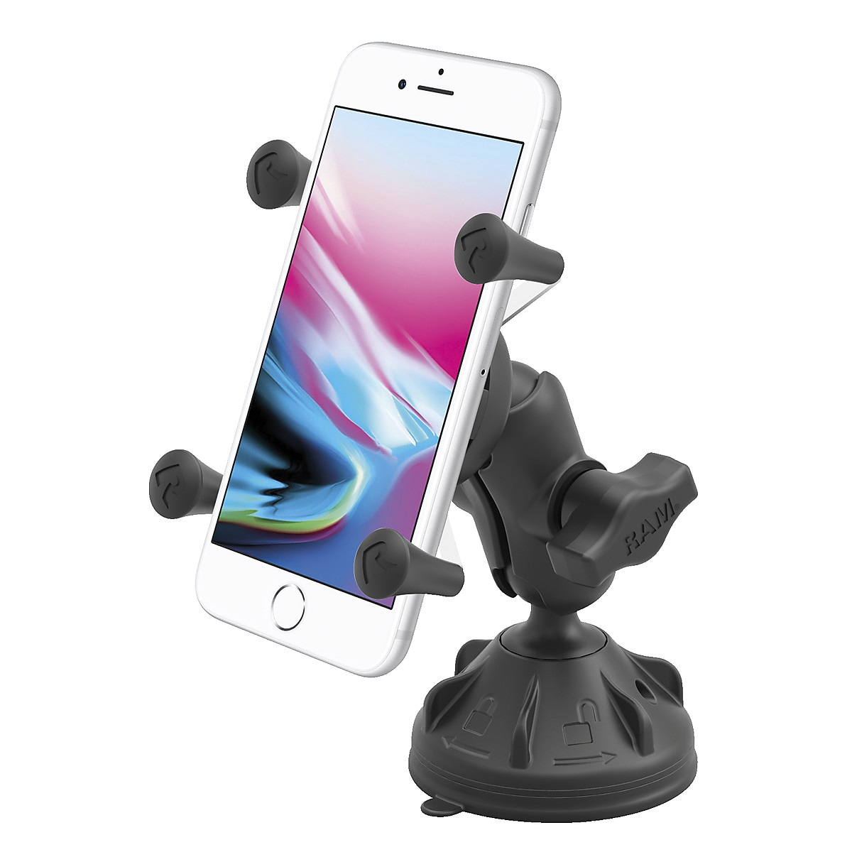 RAM Smartphone Holder with Suction Cup Base