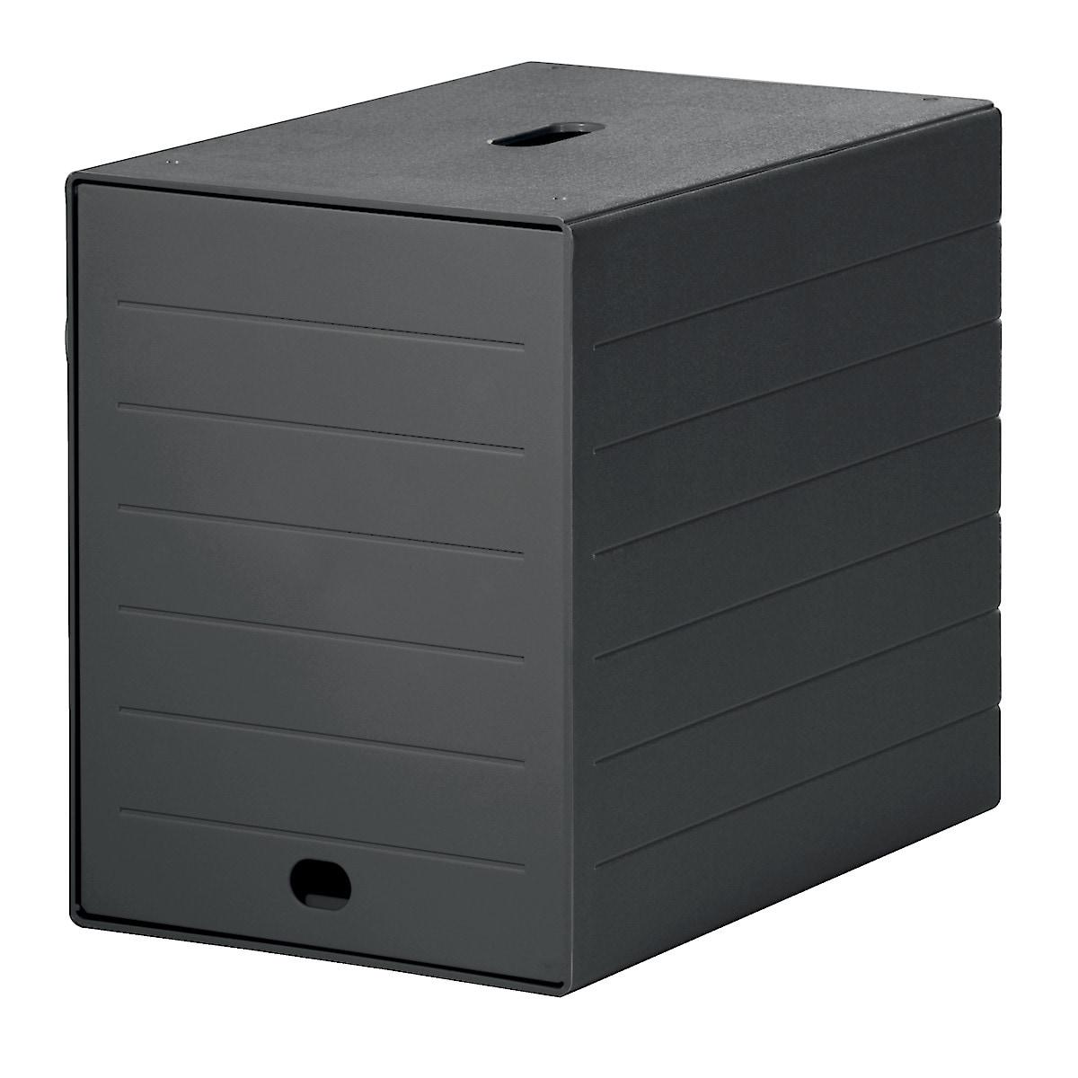 Blankettbox Idealbox Plus, svart