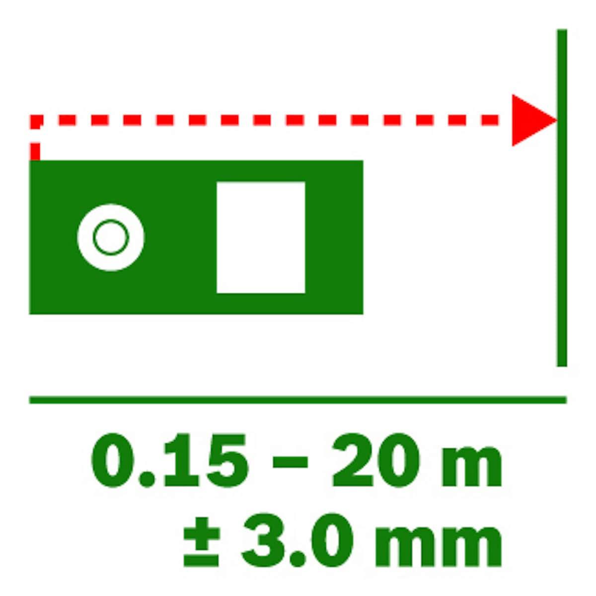 Bosch Zamo III Basic Laser Distance Measure