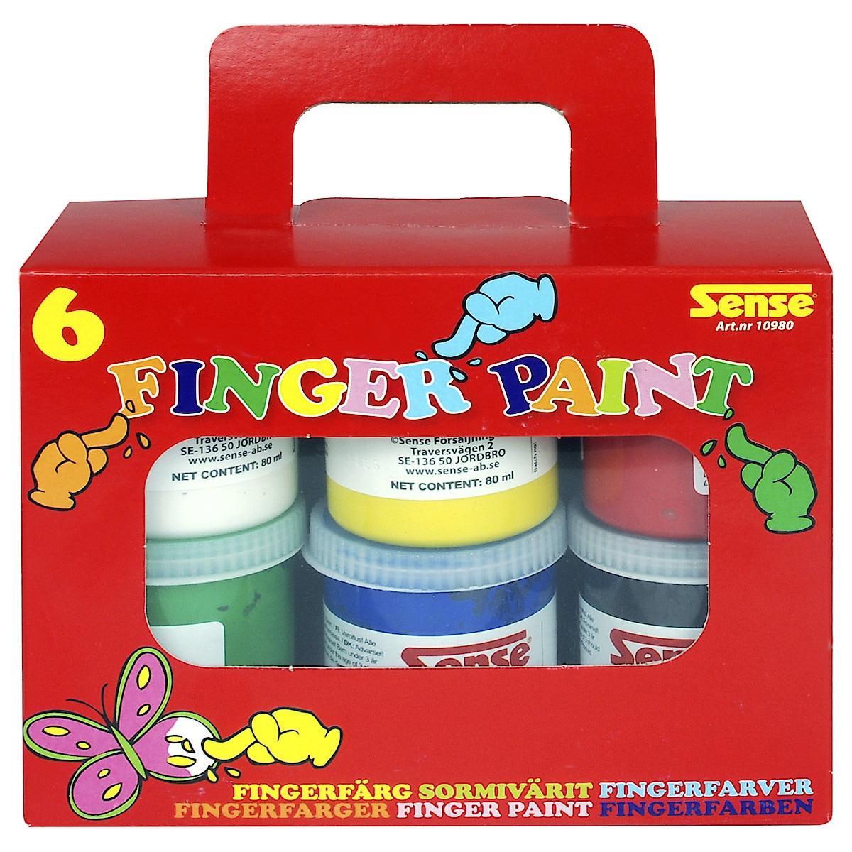 Fingerfärg Sense