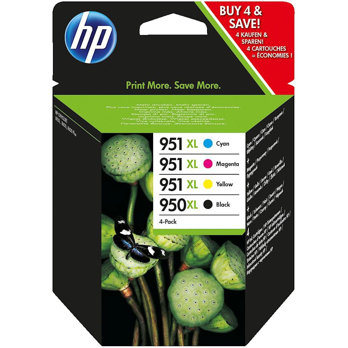Mustepatruuna HP 950/951