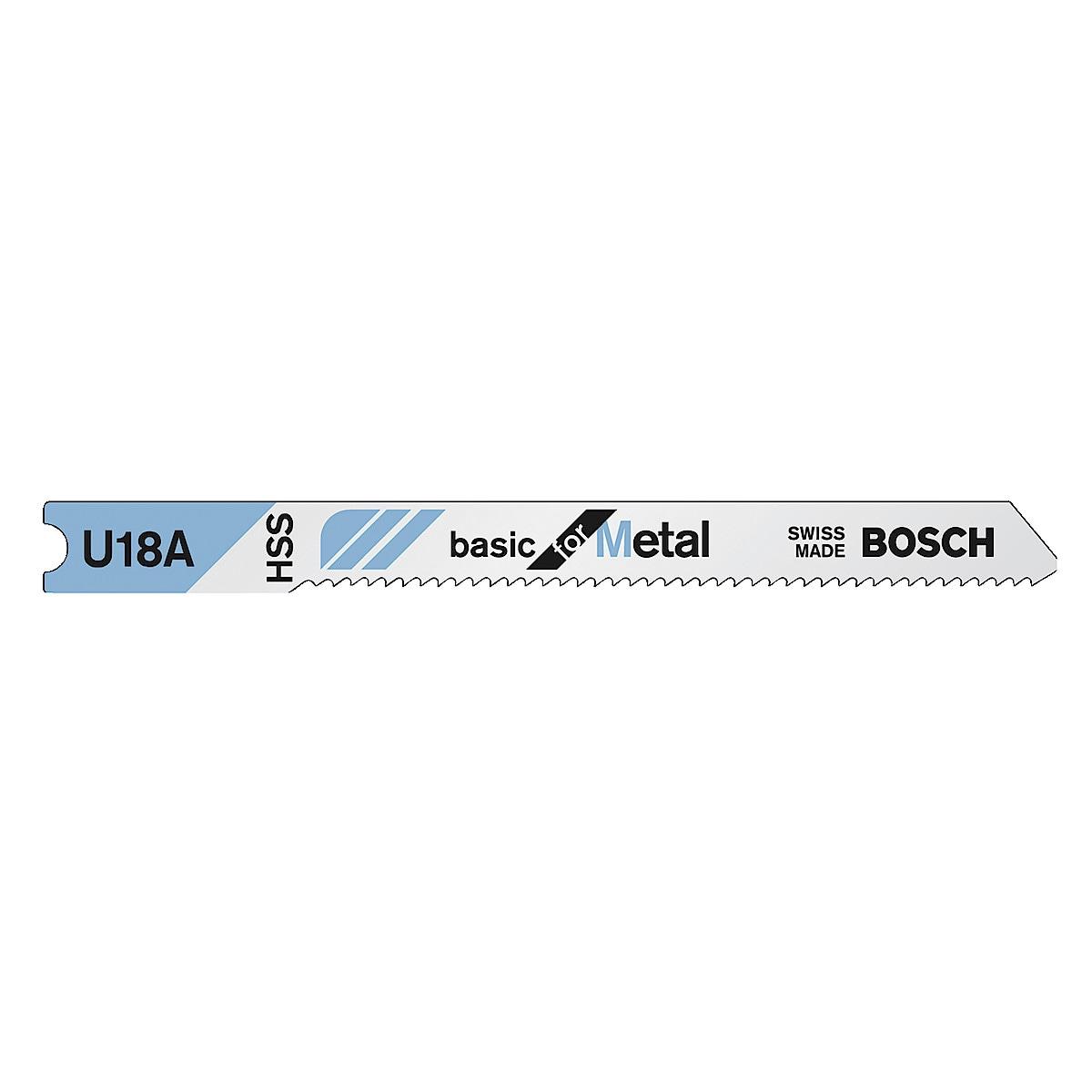 Sticksågsblad HSS U18A Bosch