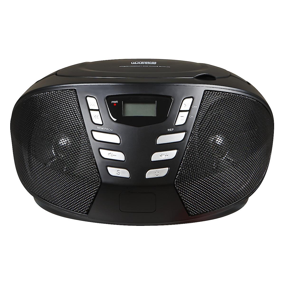 CD-spelare med FM-radio