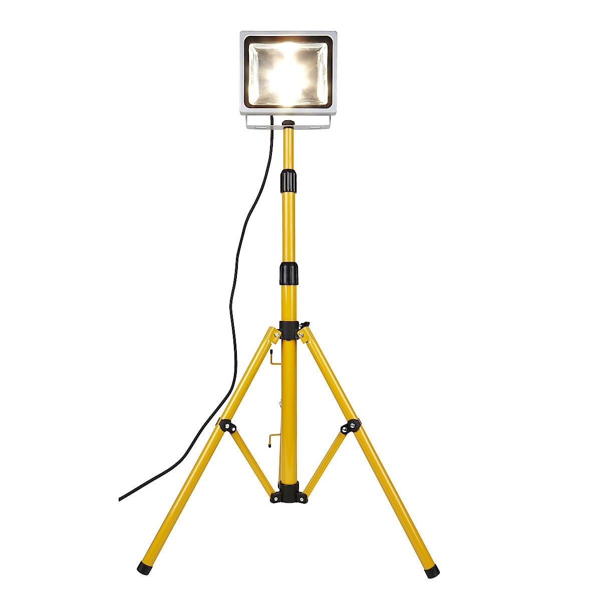 Työvalaisin ja teline, LED 30 W