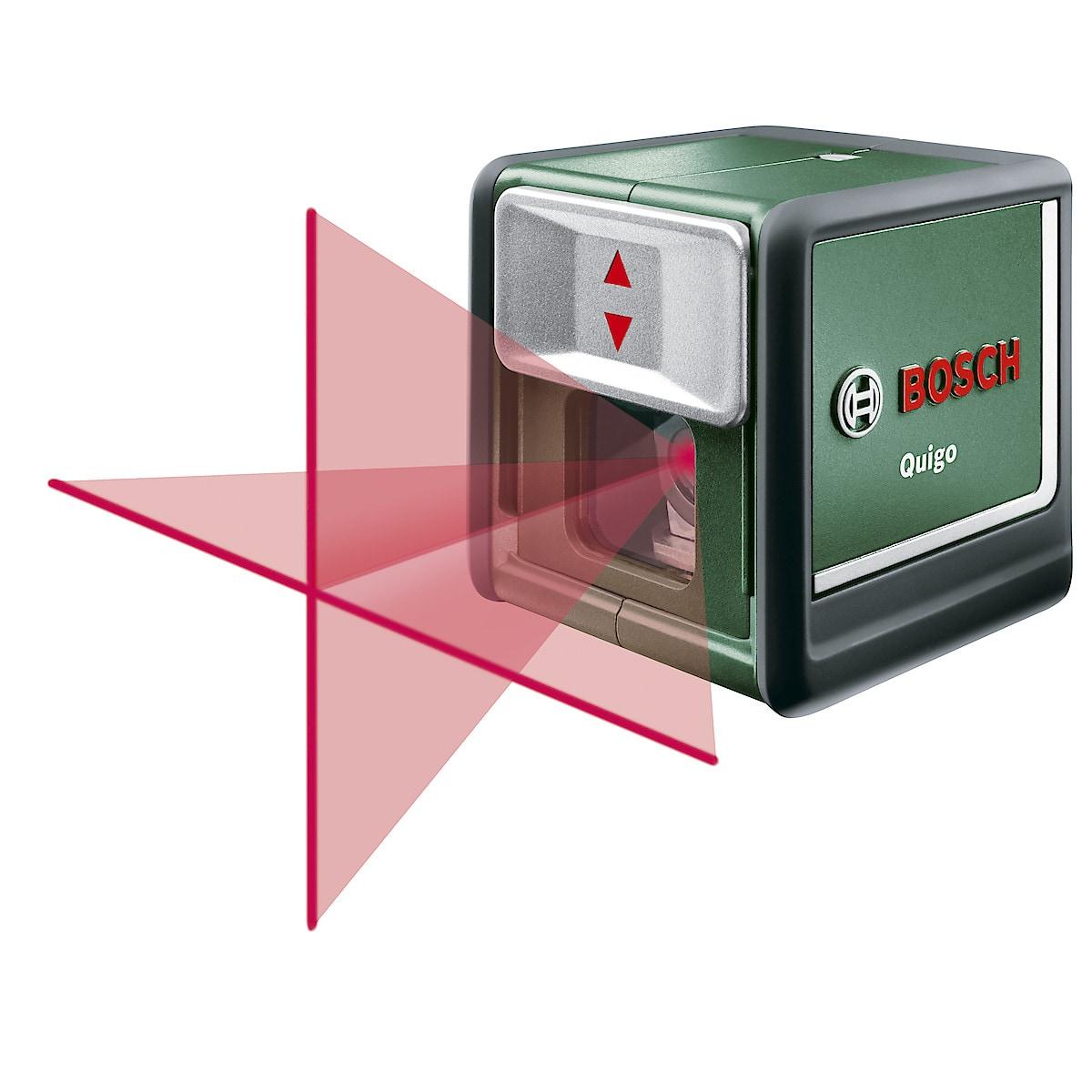Kreuzlinien-Laser Bosch Quigo II