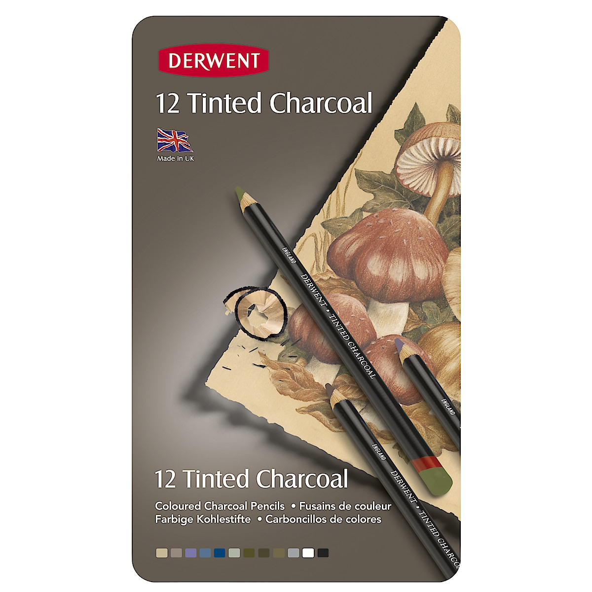 Derwent Tinted Charcoal kullblyanter