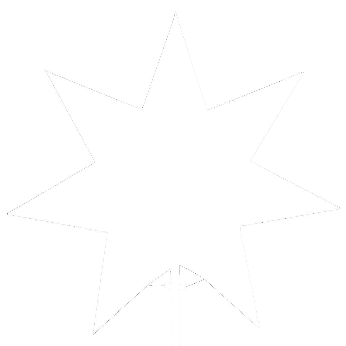 Christmas star 33 cm