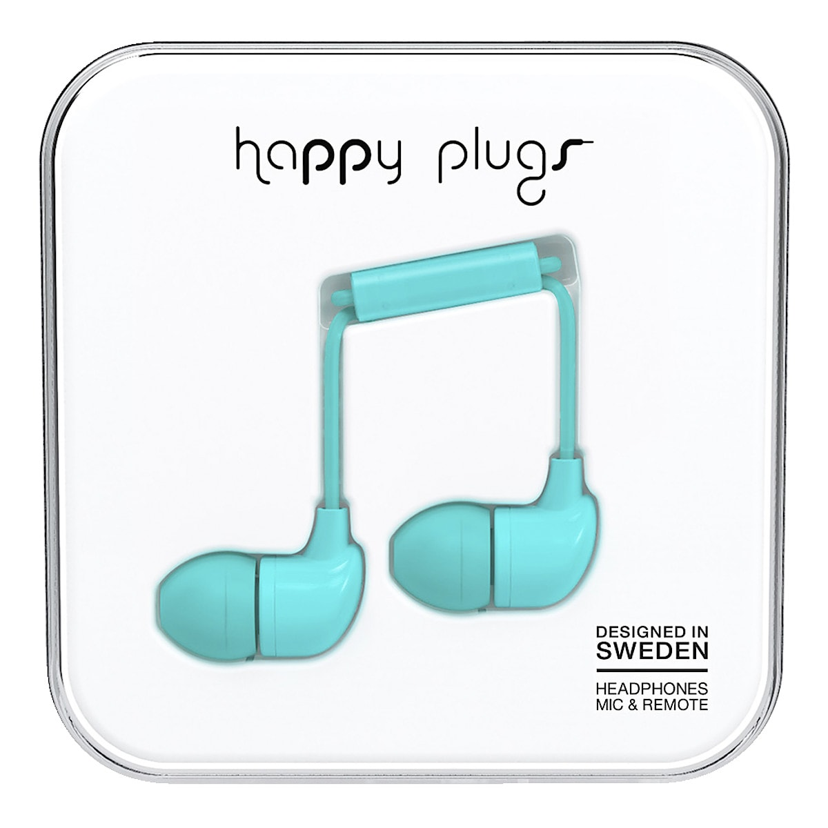 Hörlurar med mikrofon Happy Plugs In-ear