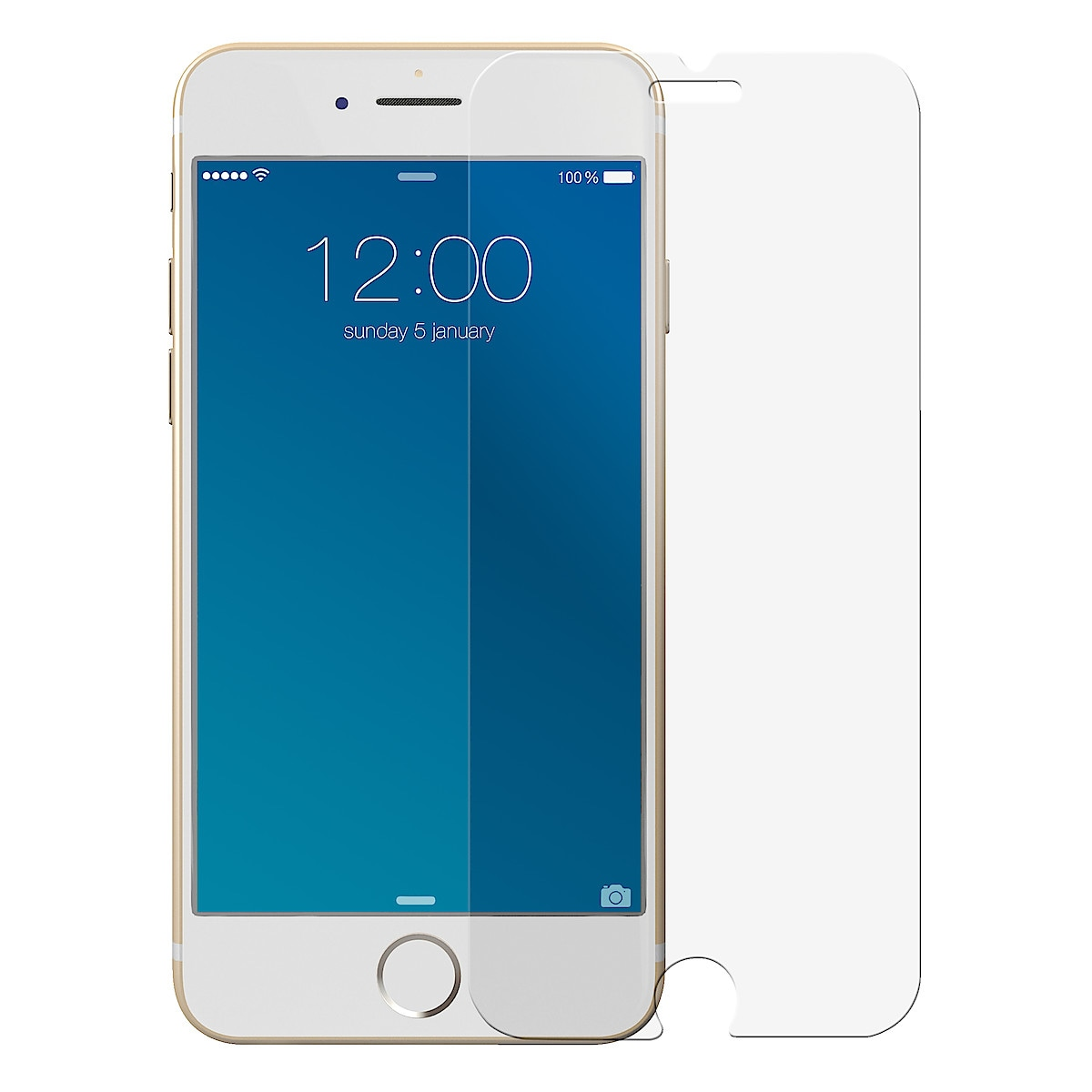 iDeal of Sweden Ideal Glass, skjermbeskytter til iPhone 6/6S/7/8