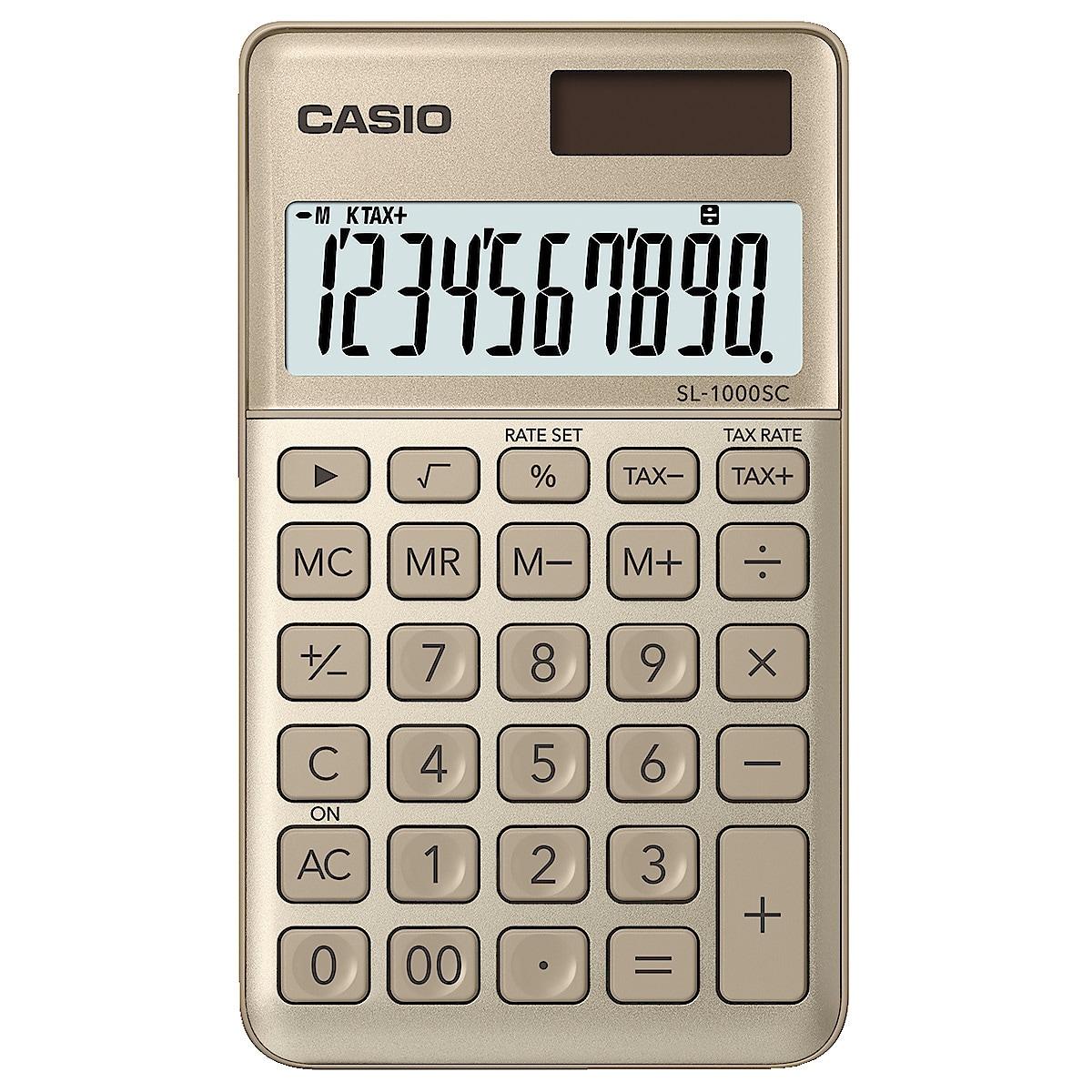 Casio SL-1000SC miniräknare