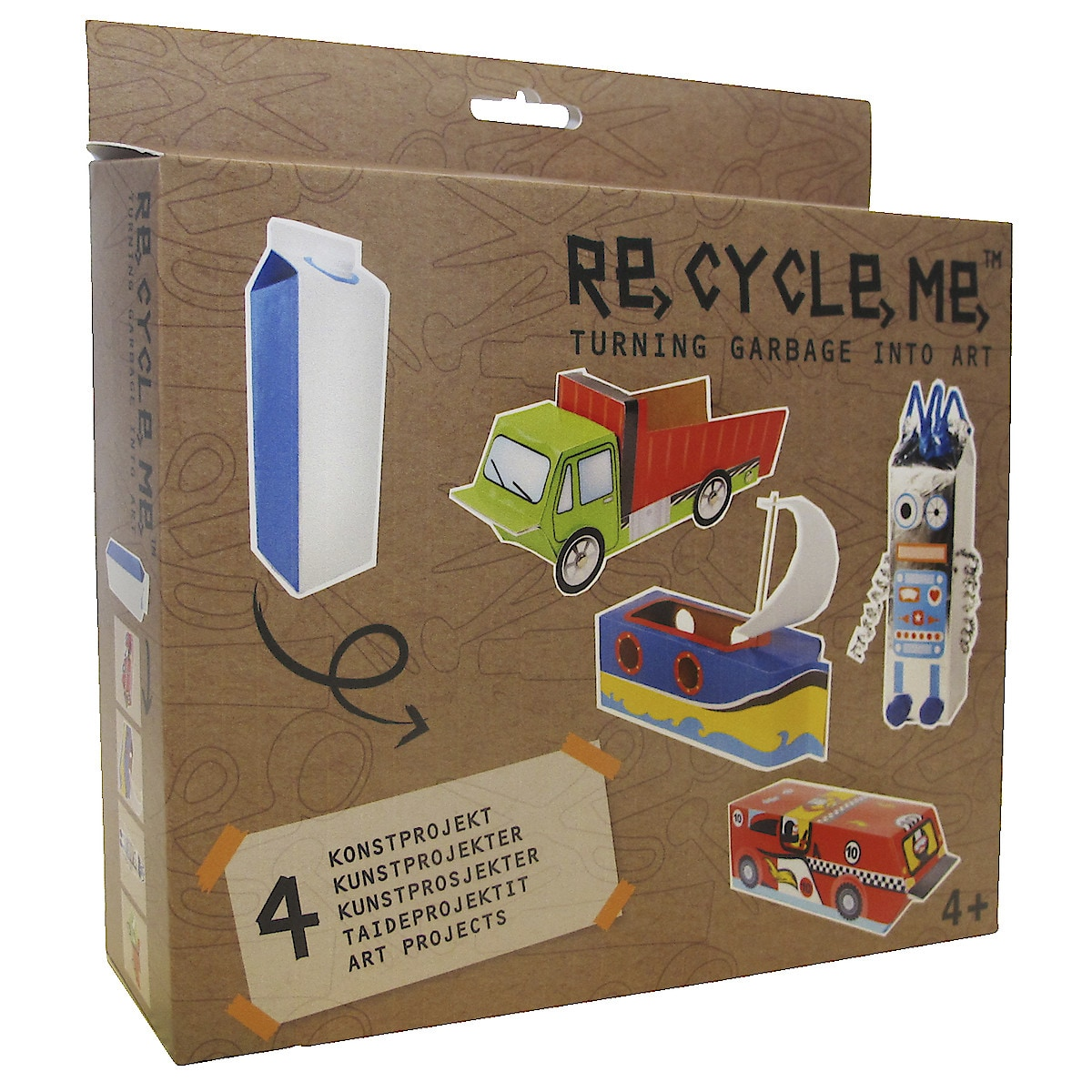Re-Cycle-Me, Milk Carton 1