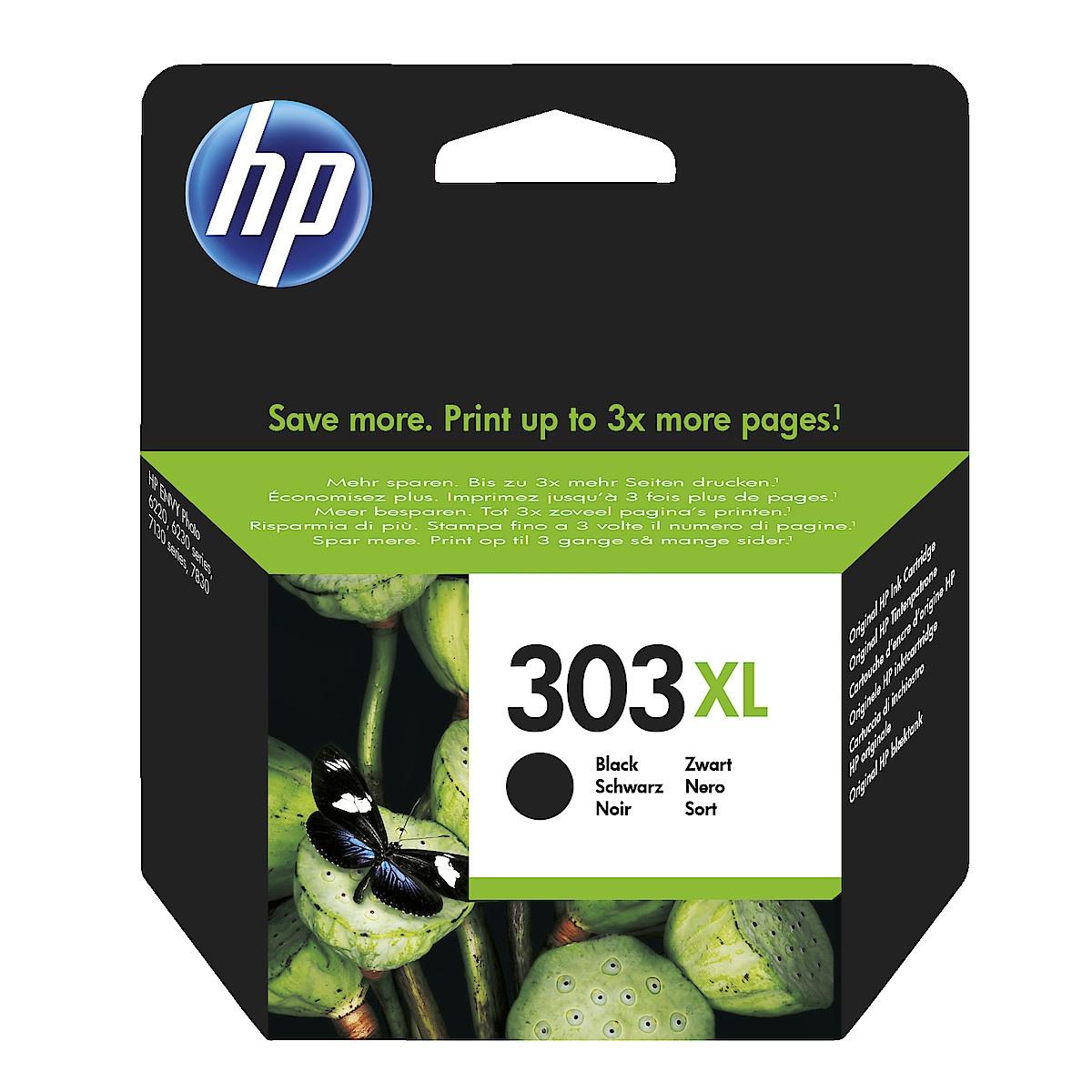 Mustepatruuna HP 303