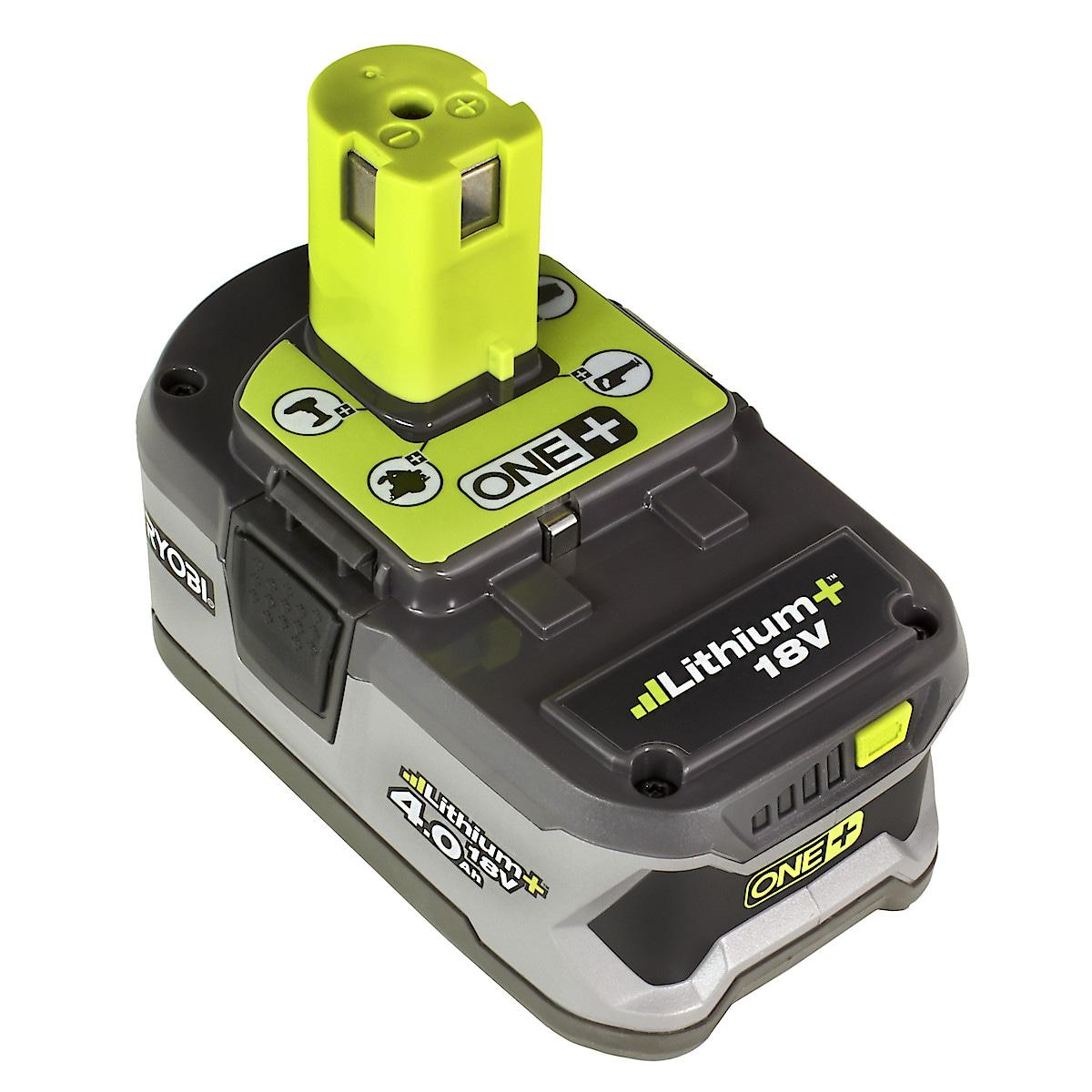 Batteri Ryobi RB18L40 18 V/4 Ah LI