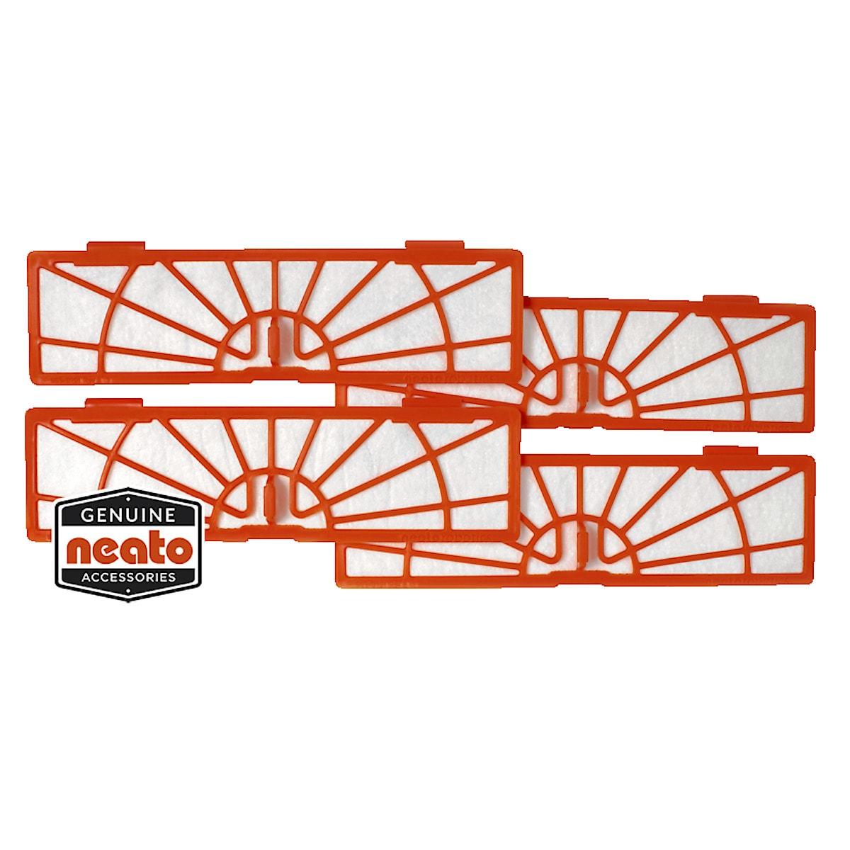 Standardfilter für Neato BotVac, 4er-Pack