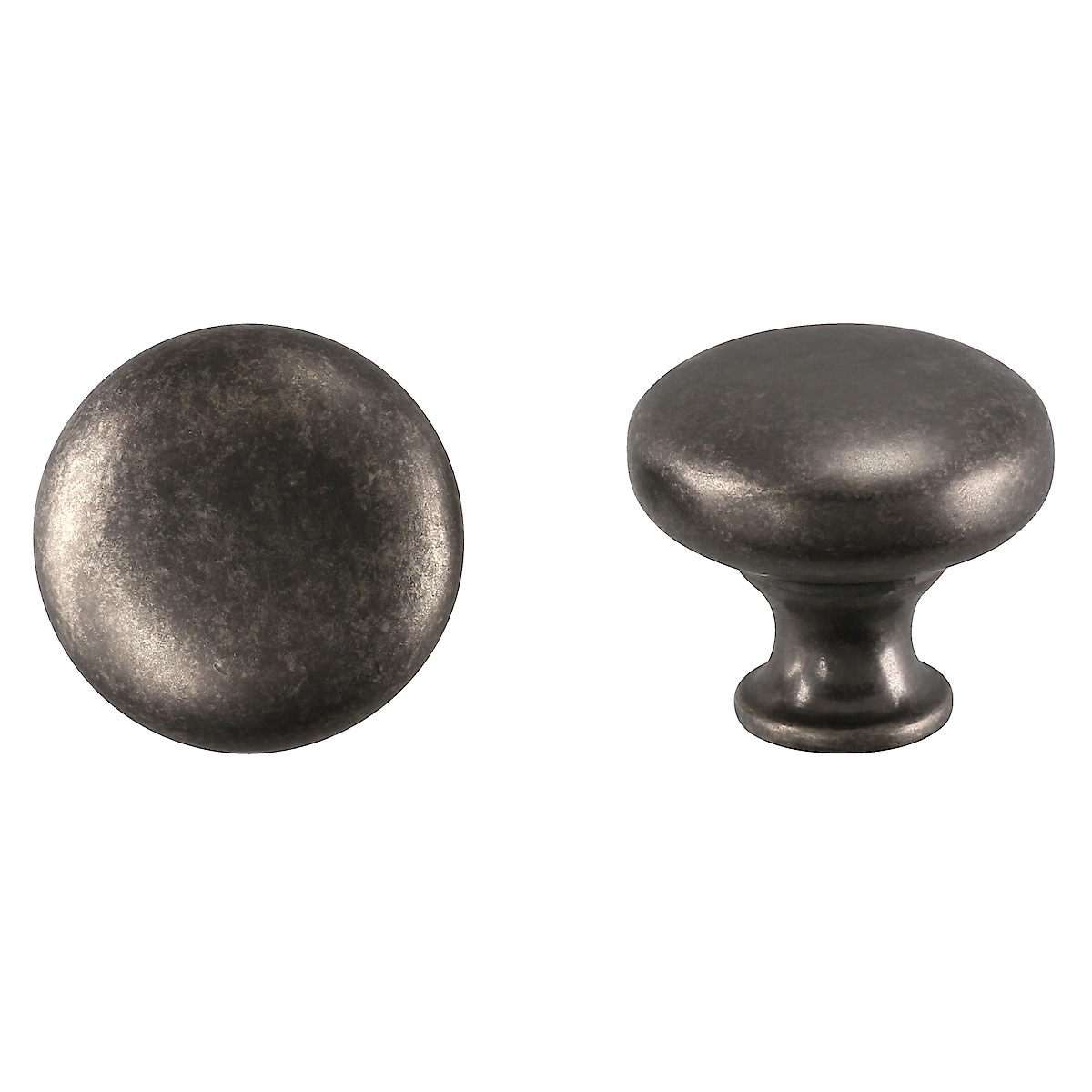 Antique Iron Round Knobs