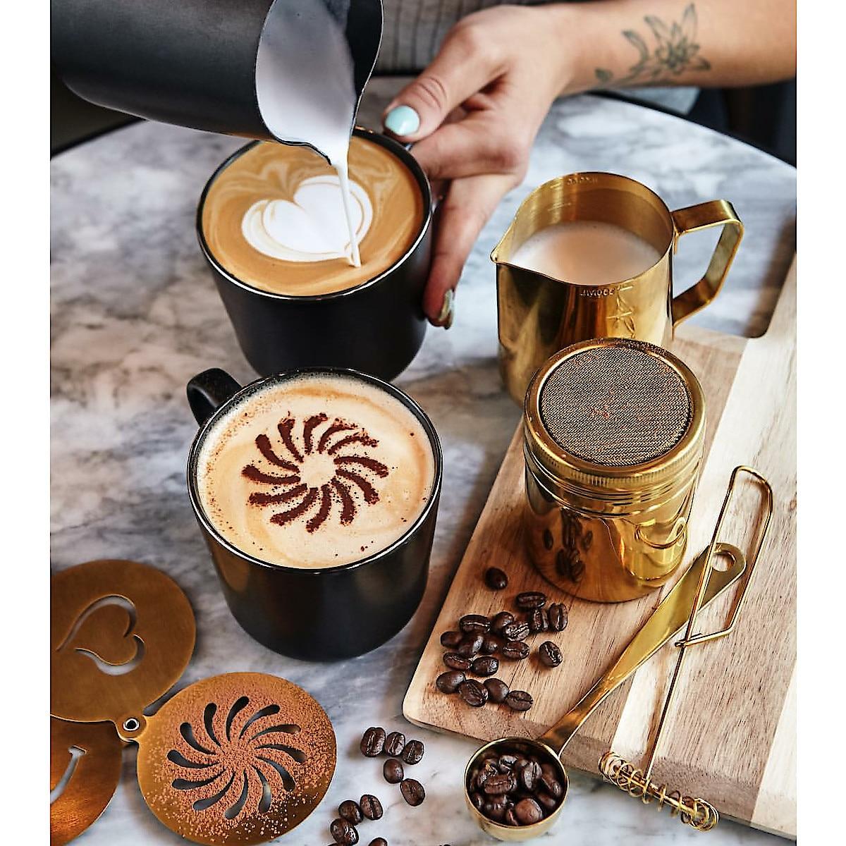 Cappuccino-Schablonen, Coline