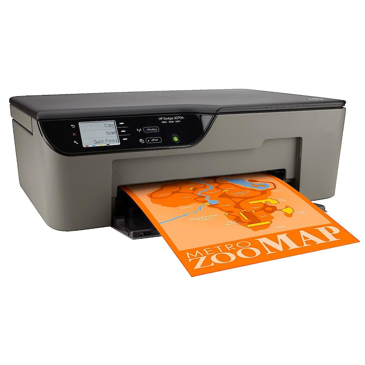 HP DeskJet 3070A eAIO All-in-One Inkjet Printer