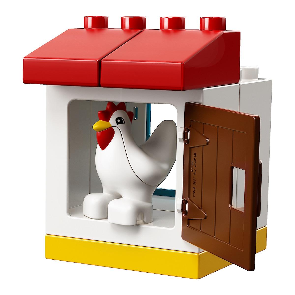 LEGO Duplo My Town 10870 Maatilan eläimet