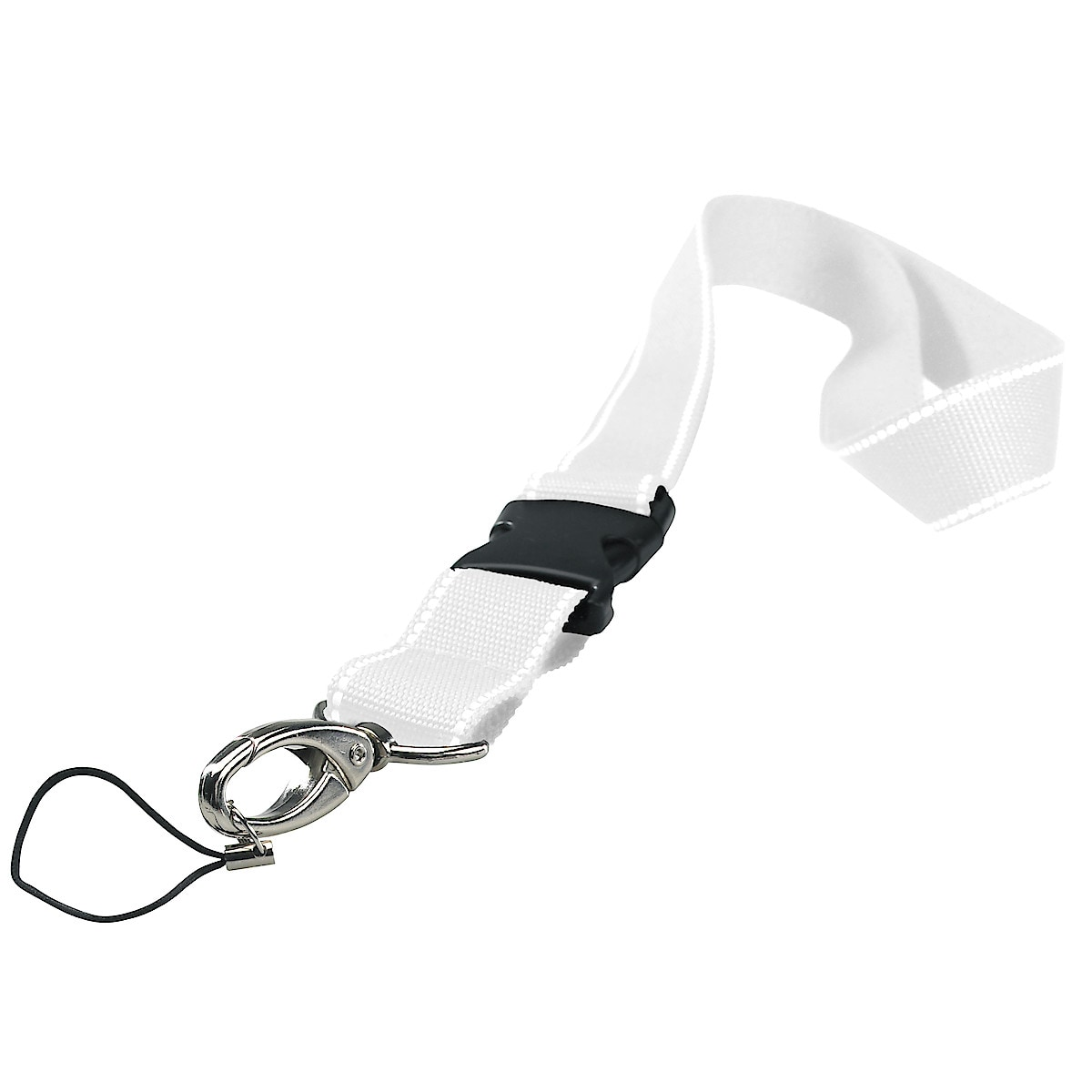 Snap Hook Reflective Key Lanyard