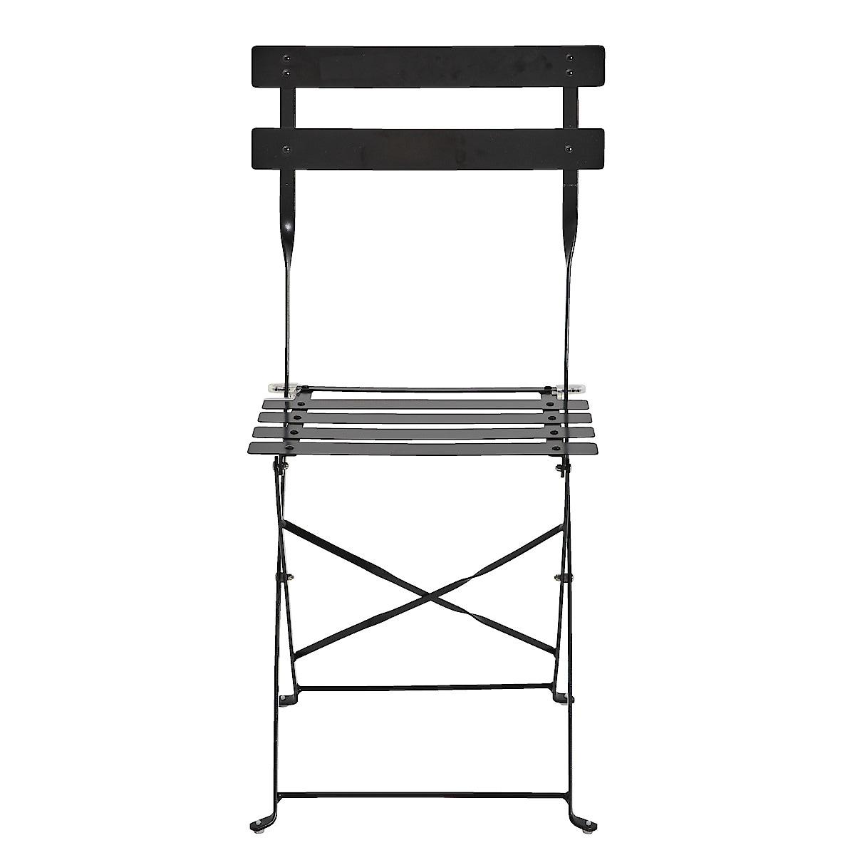 Hopfällbar stol, utemöbler metall