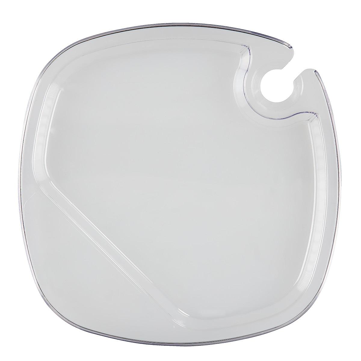 Mingeltallrik transparent