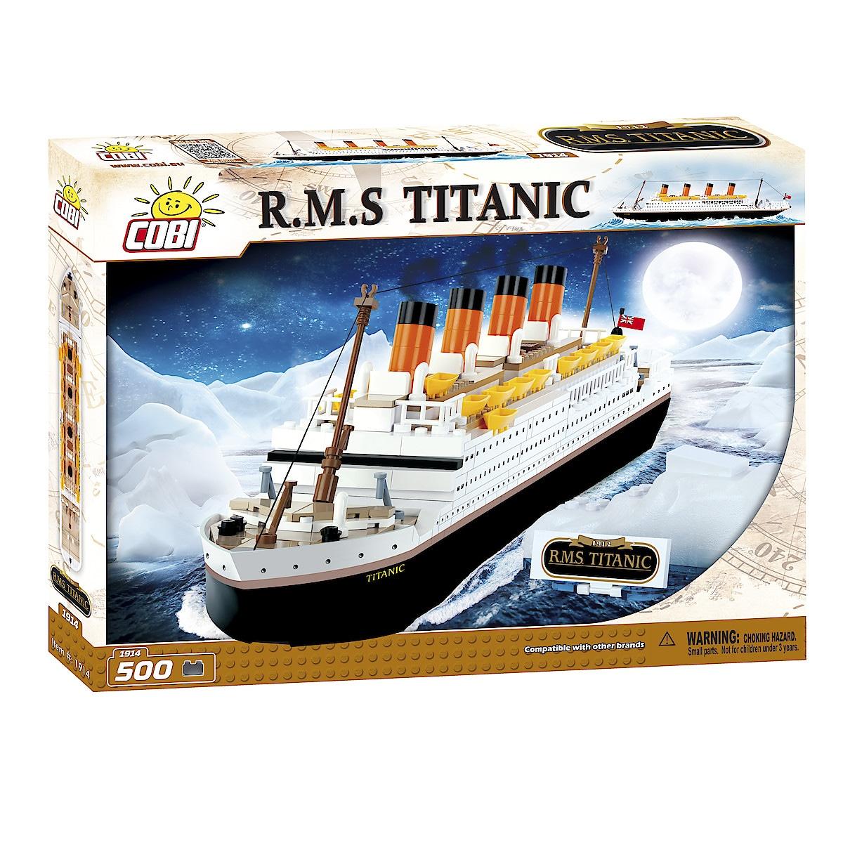Cobi byggeklosser, Titanic