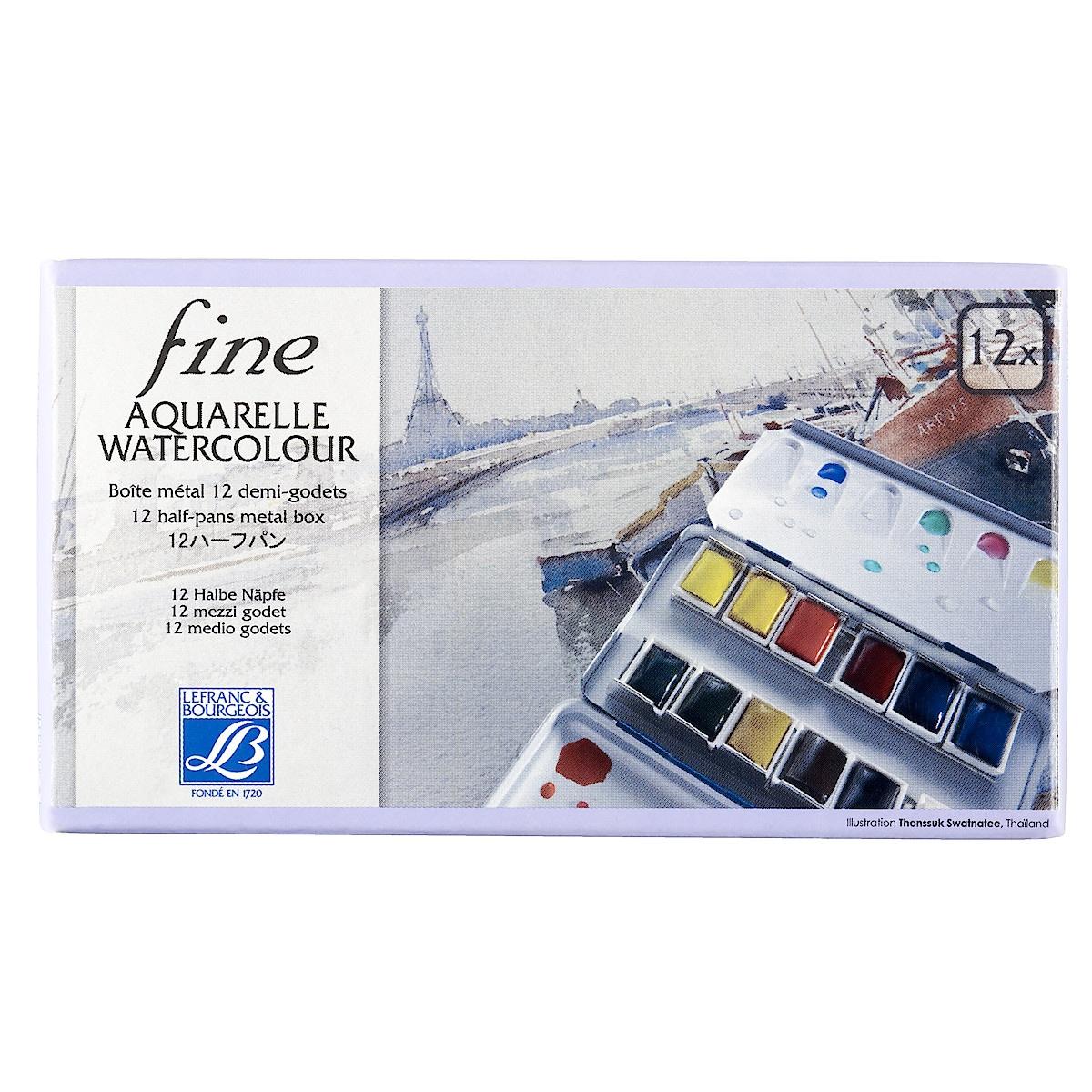 Akvarellfärgsats Lefranc & Bourgeois Fine