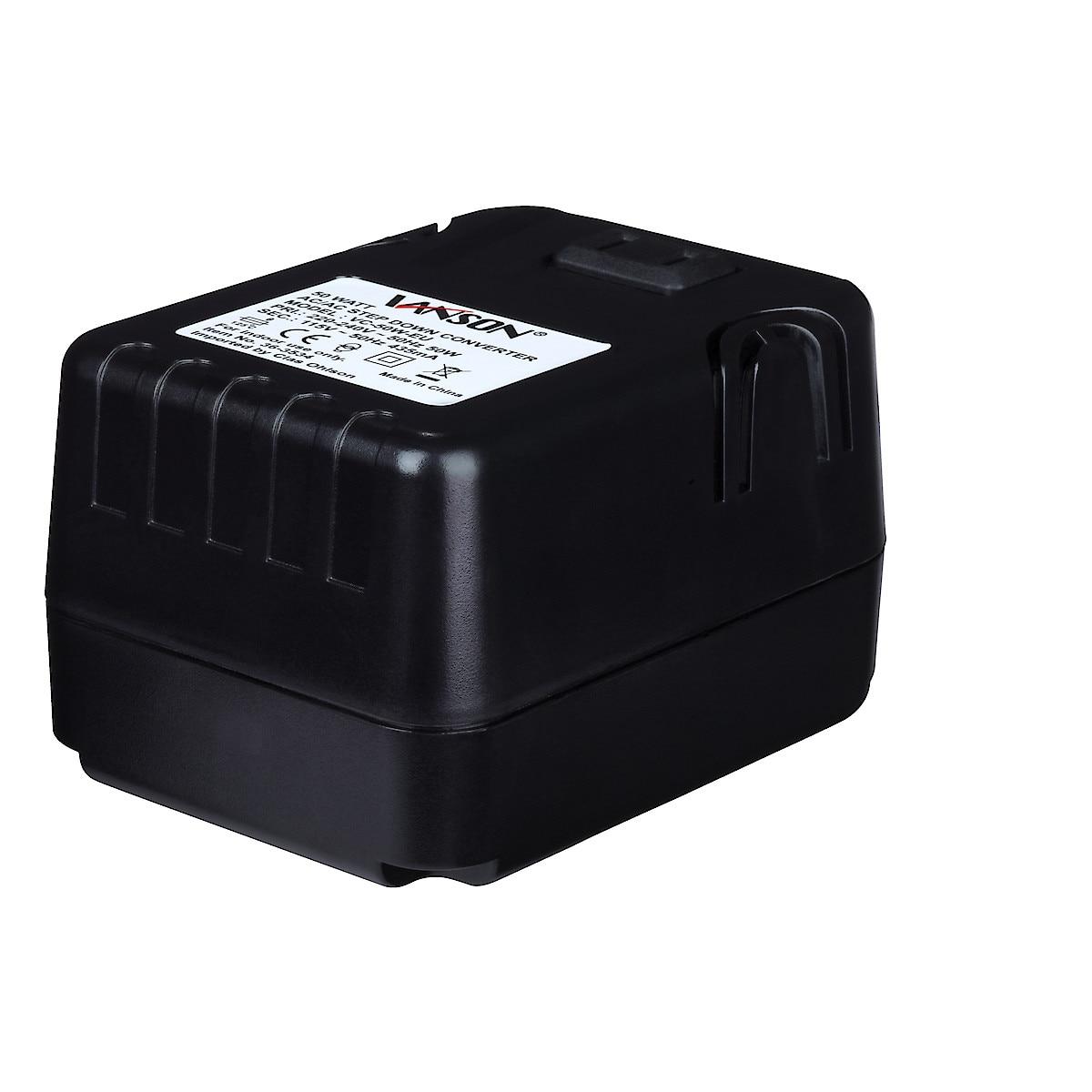 Välimuuntaja/konvertteri 230–110 V