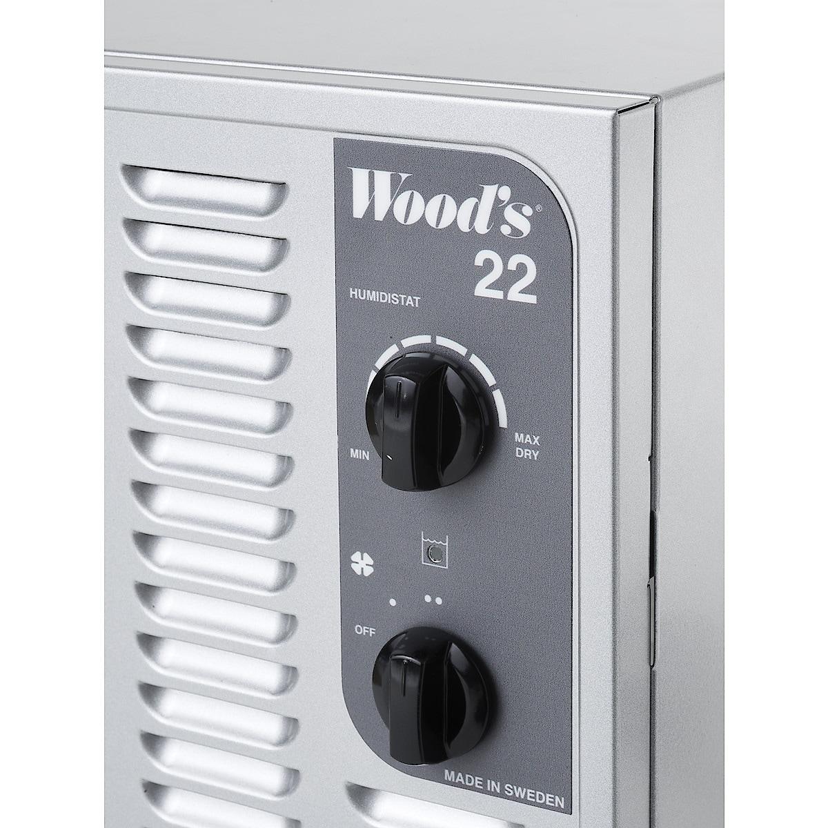 Woods SW22FM Ilmankuivain ja suodatin 100 m2