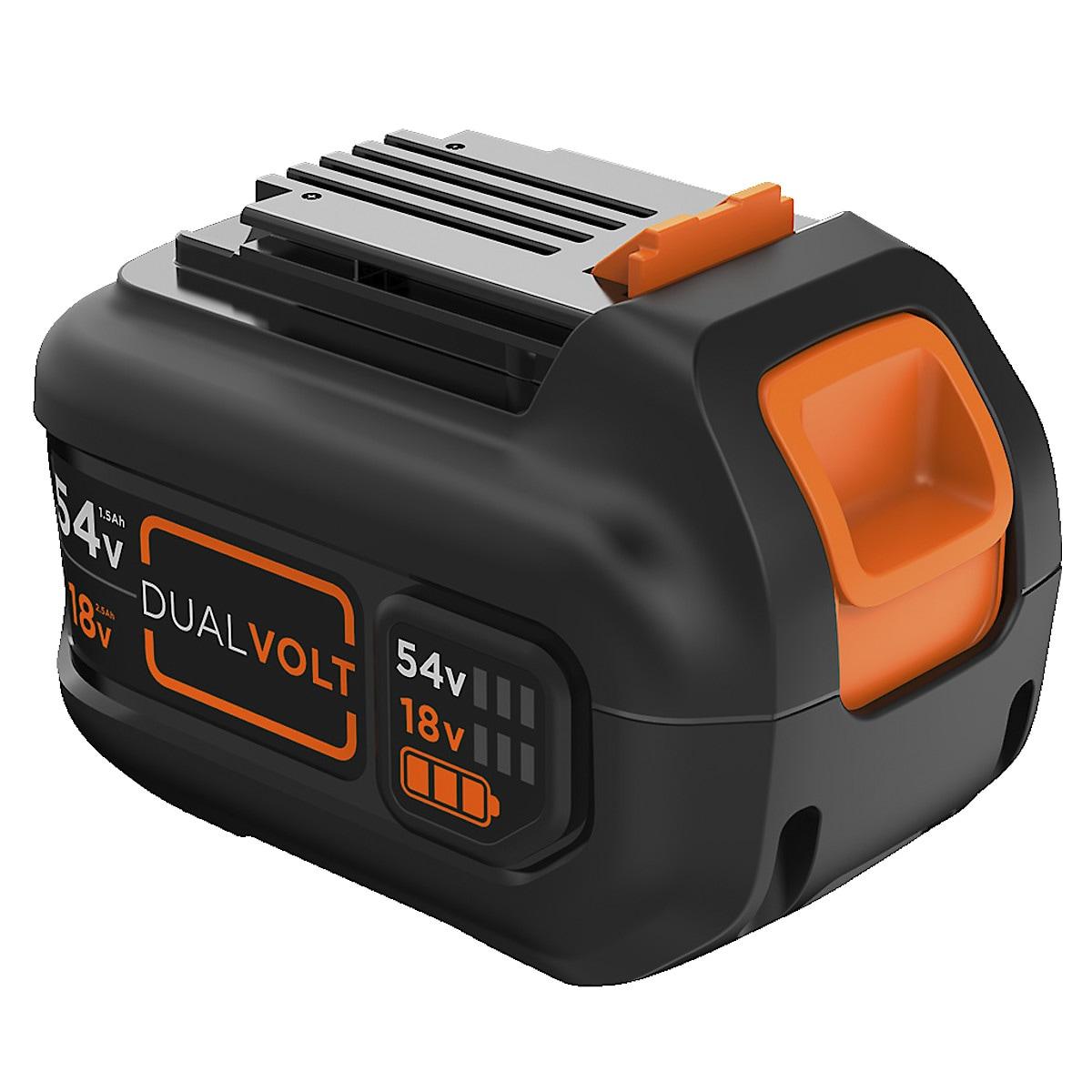 Batteri B&D 54 V 15 Ah Dualvolt