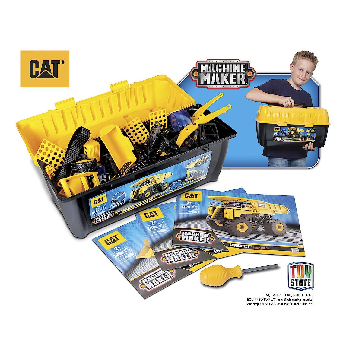 Byggset CAT Machine Maker Apprentice Multi-Machines