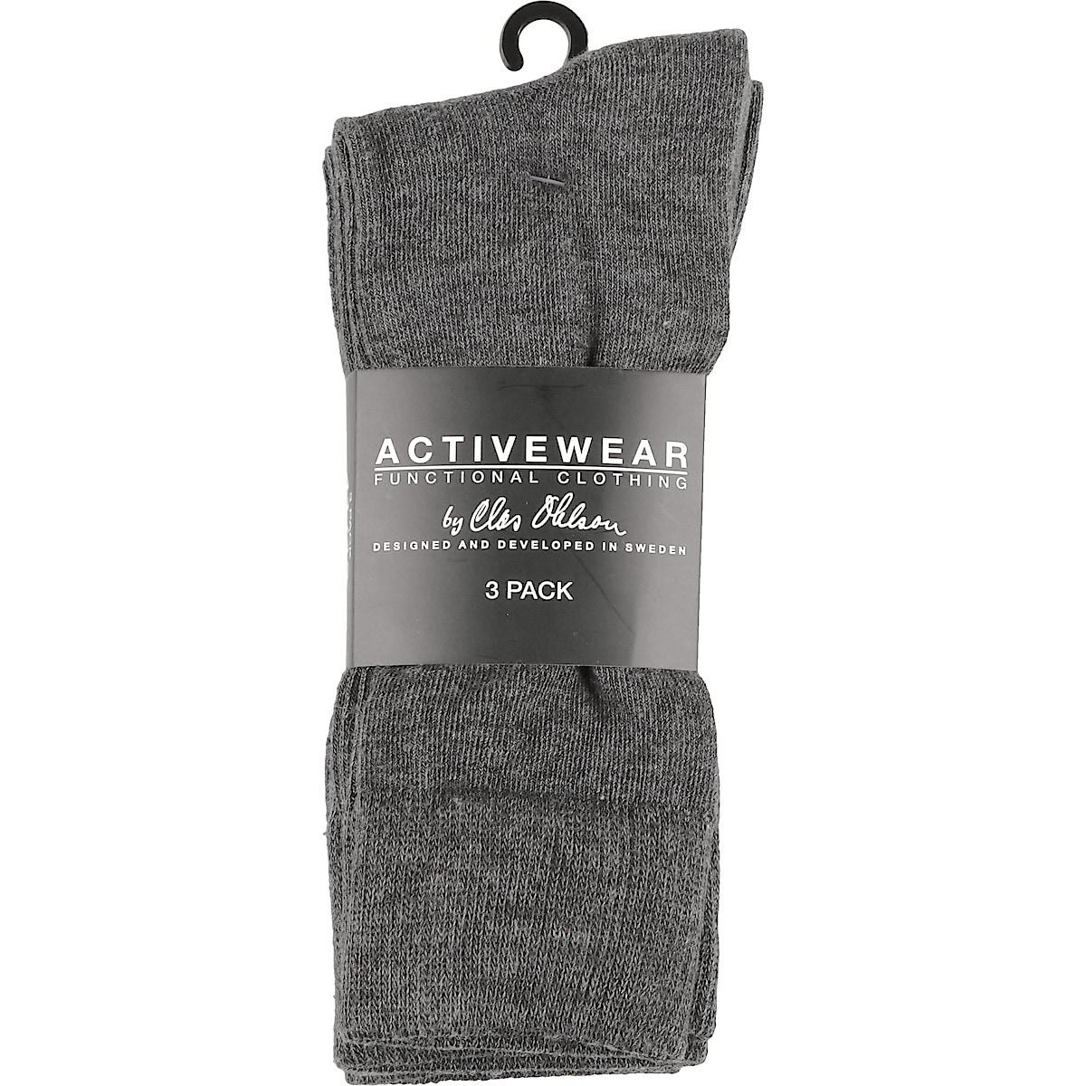 Sokker grå 3 stk.