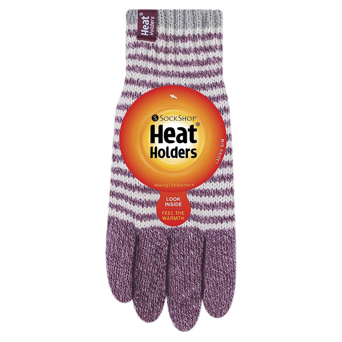Heat Holders fingervanter, dame, rosa