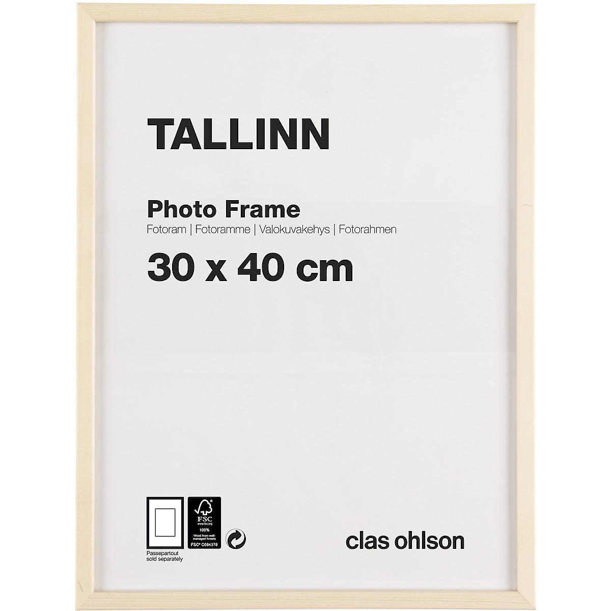 Tallinn Photo Frame Pine