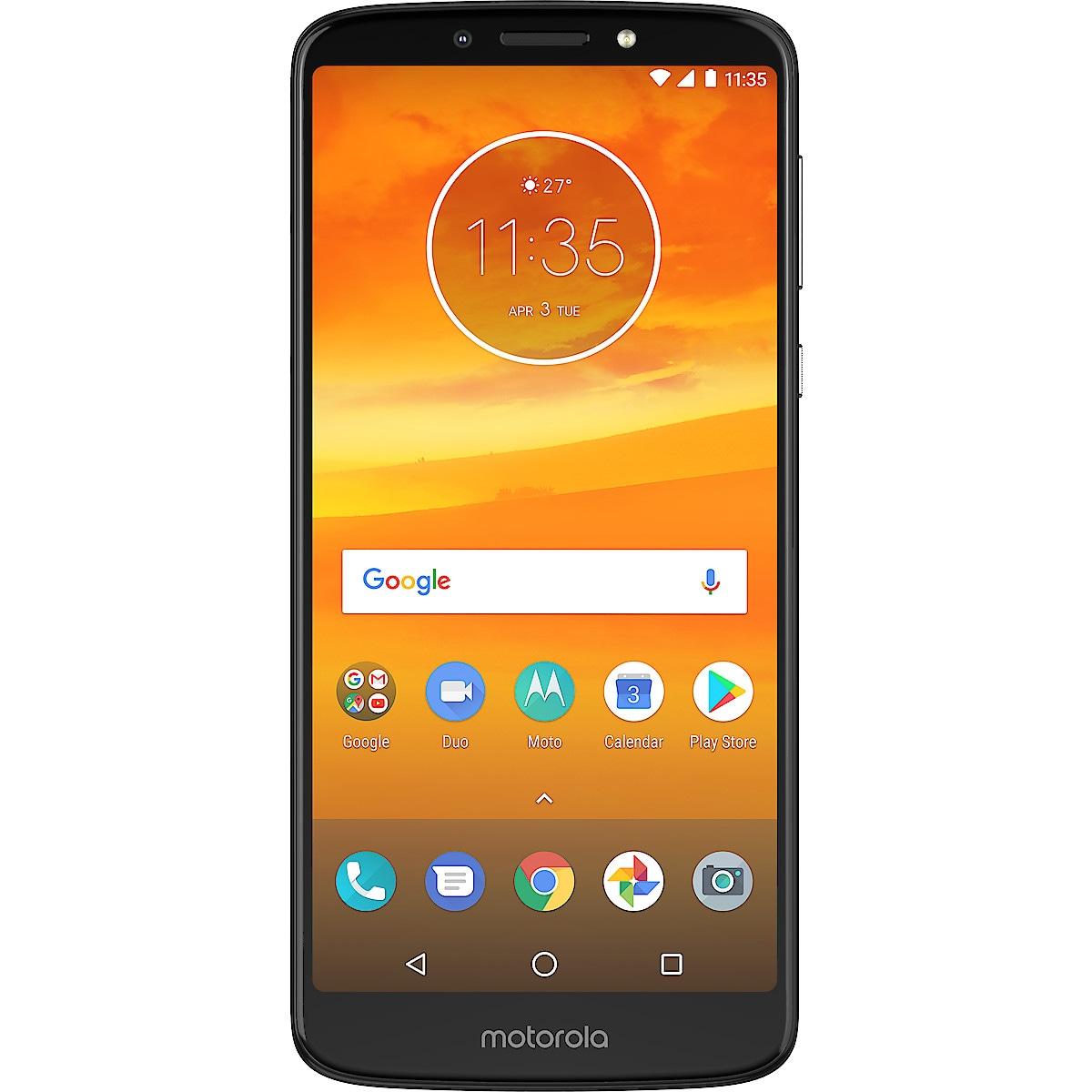 Moto E5 Plus Dual SIM mobiltelefon