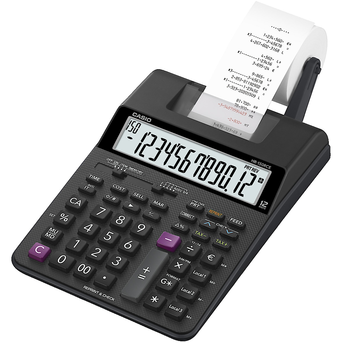 Casio 150RCE Printing Calculator