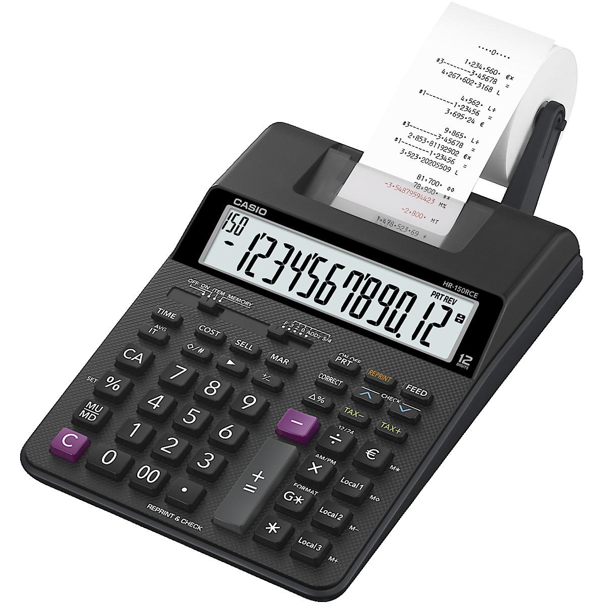 Casio HR-150RCE miniräknare