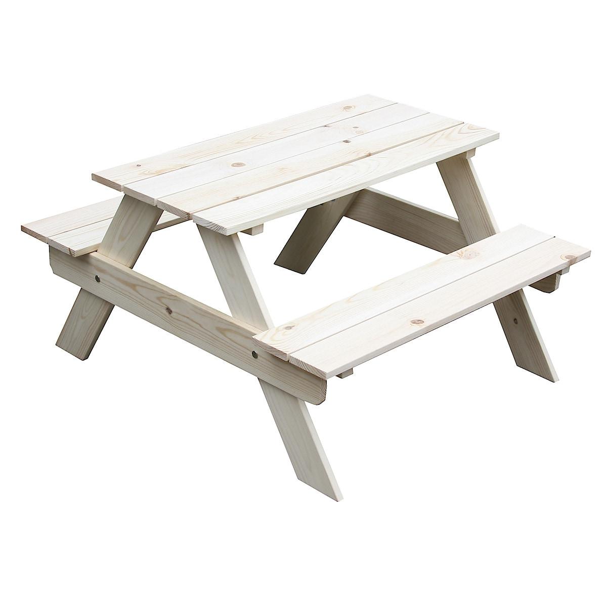 Trädgårdsbord för barn