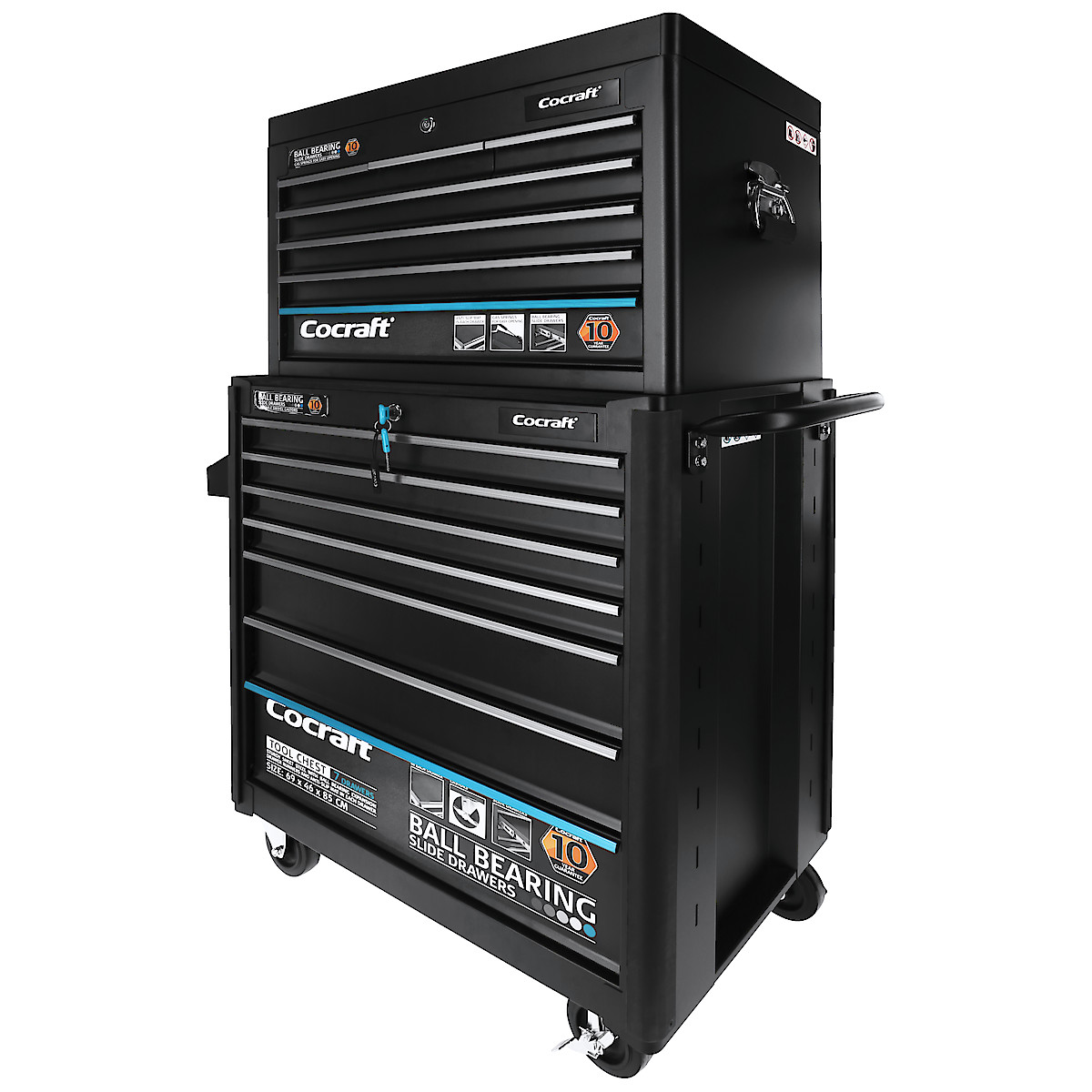 Cocraft Tool Chest with Top Tray