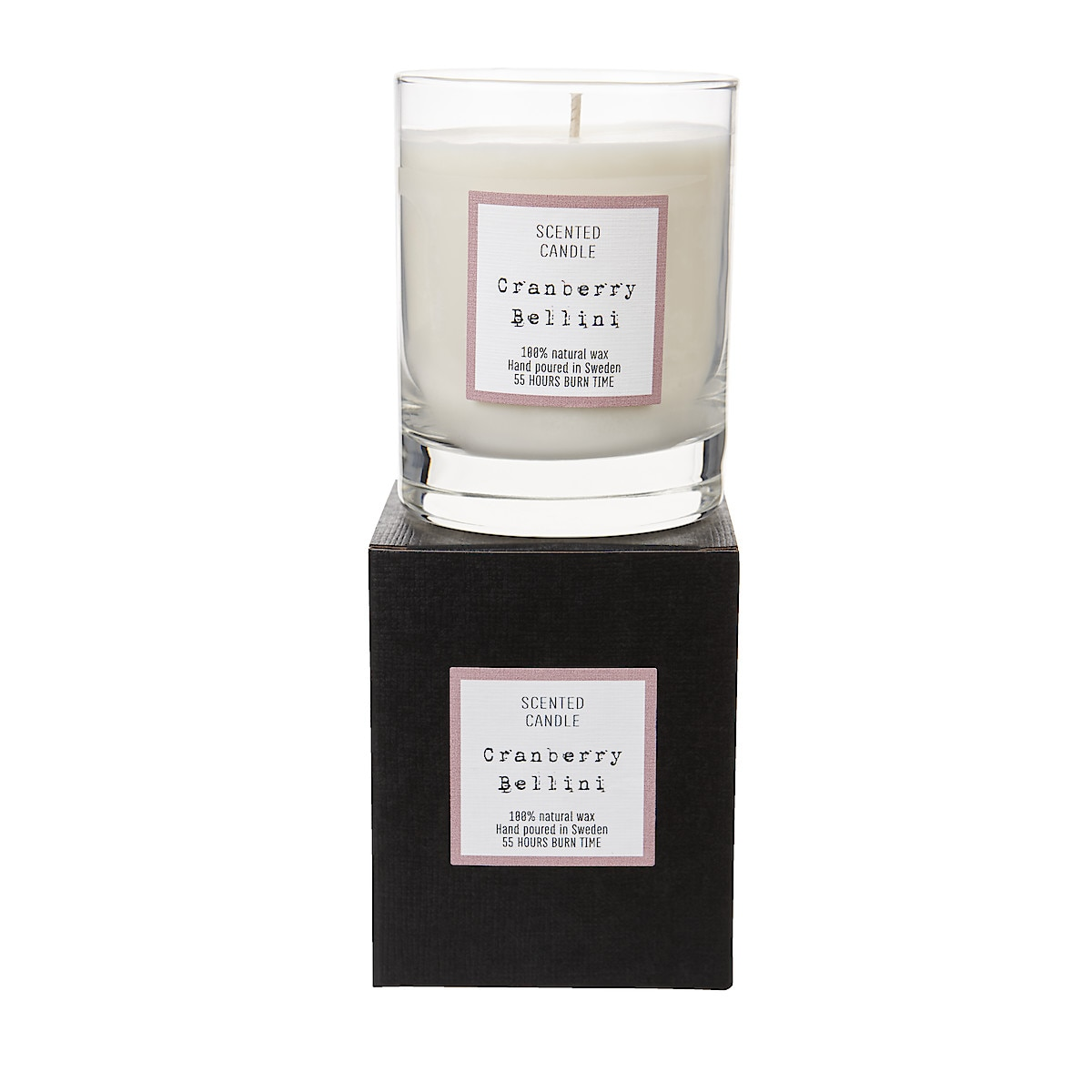 Cranberry Bellini Scented Candle