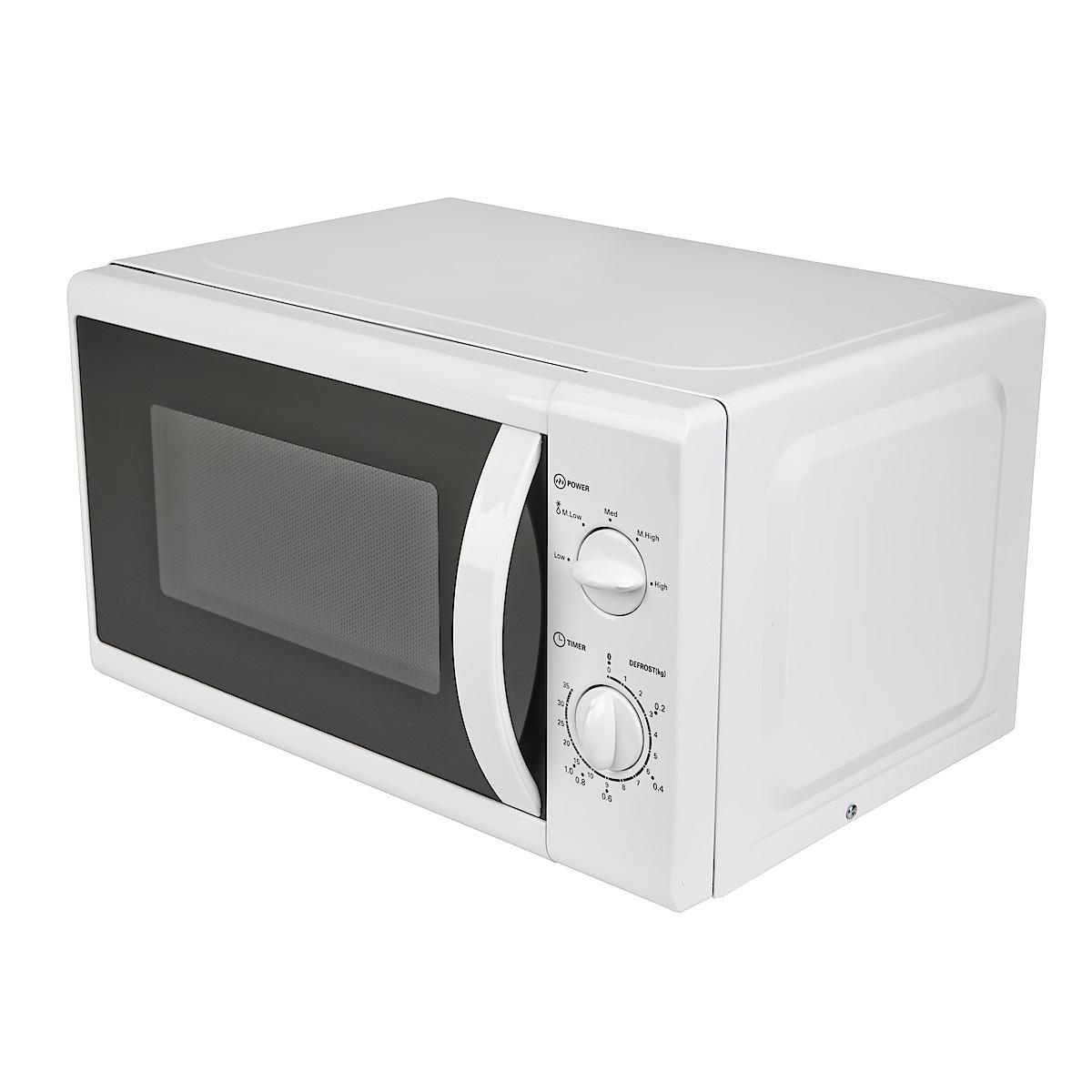 Mikrovågsugn vit