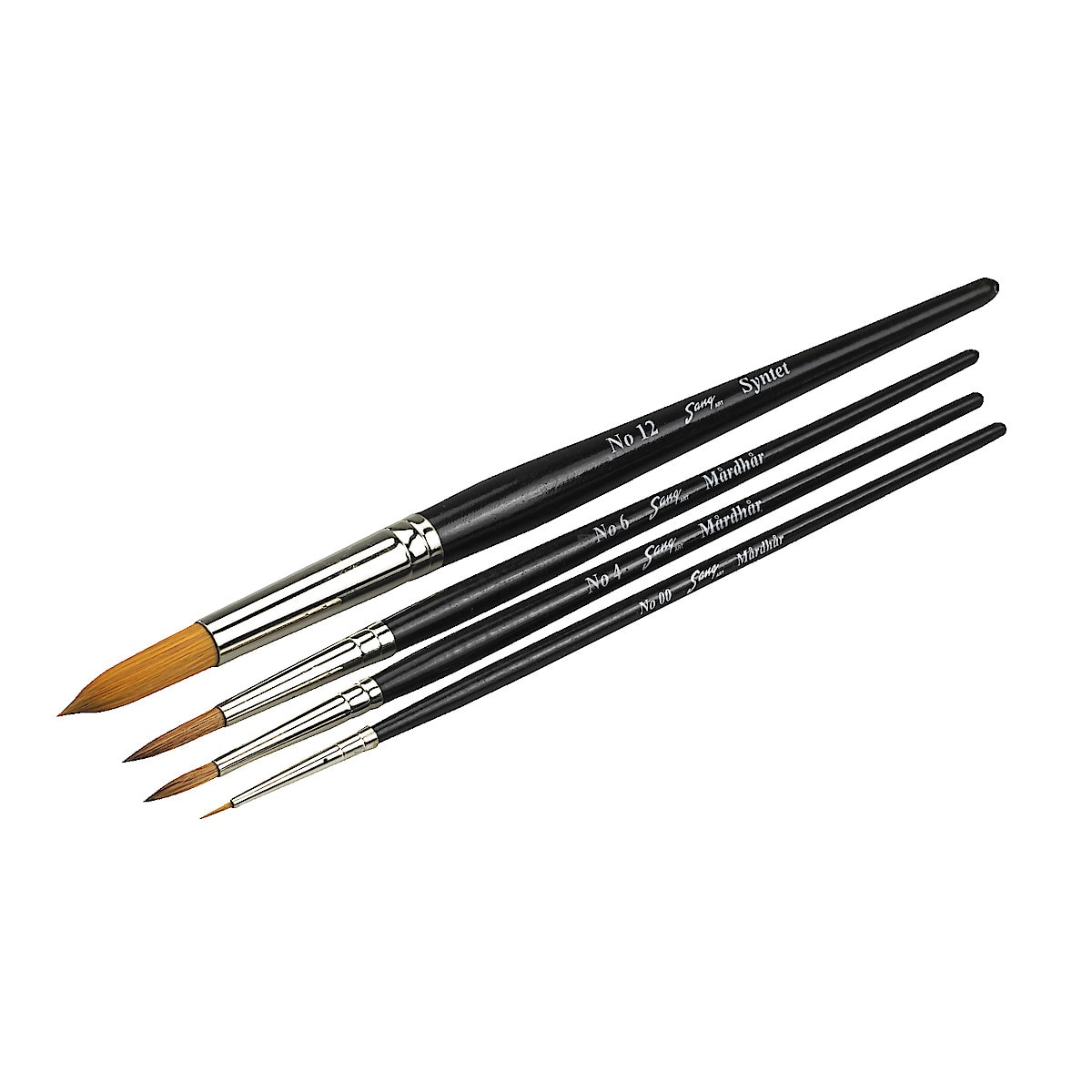 Watercolour Brush Set,