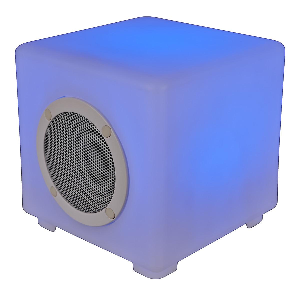 Högtalare med LED-belysning