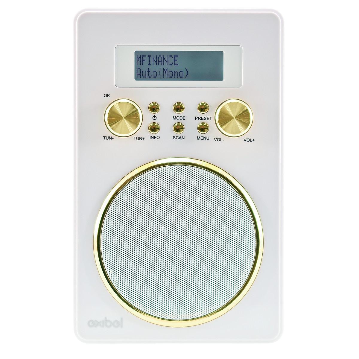 DAB- och FM-radio med Bluetooth Exibel DX26