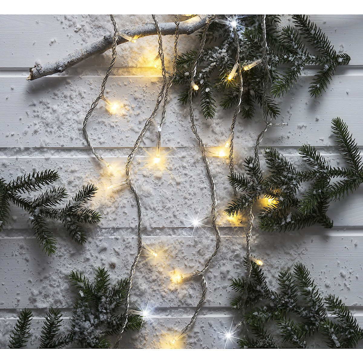 Northlight Sparkling Icicle String Light