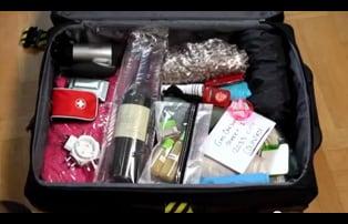 Pakke kofferten