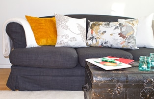Klä om din soffa